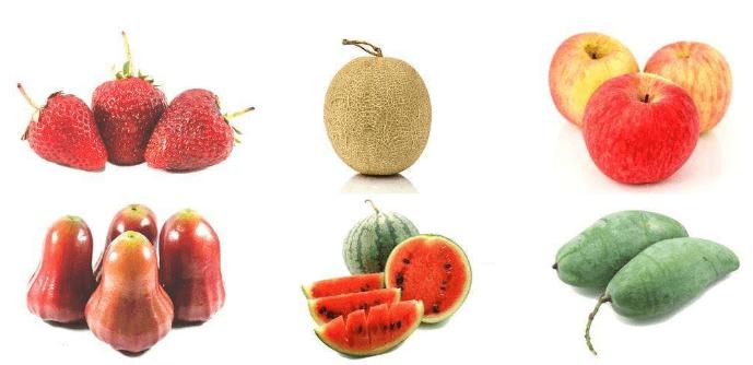 五种减肥水果