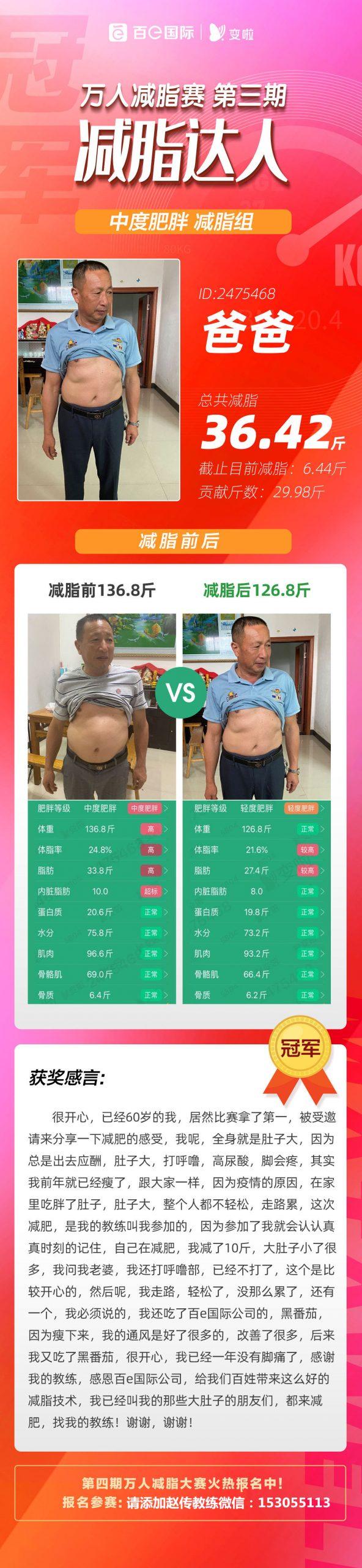 变啦减脂技术解决了肥胖的困扰